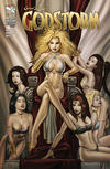 Cover Thumbnail for Grimm Fairy Tales Presents Godstorm (2012 series) #1 [Cover B - Keu Cha]