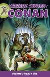 Cover for Savage Sword of Conan (Dark Horse, 2007 series) #21