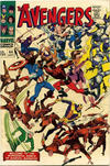 Cover for The Avengers (Marvel, 1963 series) #44 [British Price Variant]