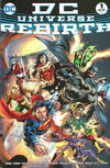 Cover Thumbnail for DC Universe: Rebirth (2016 series) #1 [Midnight Release Ivan Reis / Joe Prado Cover]