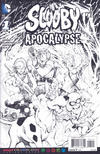 Cover Thumbnail for Scooby Apocalypse (2016 series) #1 [Adult Coloring Book Cover]