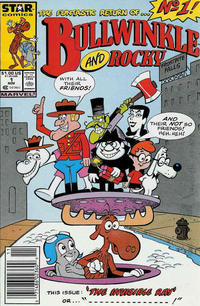 Cover Thumbnail for Bullwinkle and Rocky (Marvel, 1987 series) #1 [Newsstand]
