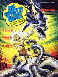 Cover Thumbnail for Die Sprechblase (Norbert Hethke Verlag, 1978 series) #47