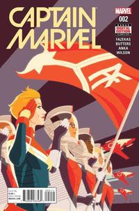 Cover Thumbnail for Captain Marvel (Marvel, 2016 series) #2