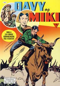 Cover Thumbnail for Davy og Miki (Hjemmet / Egmont, 2014 series) #6