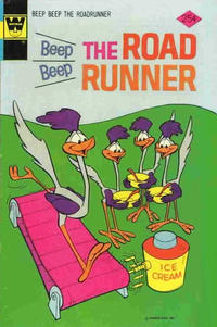 Cover Thumbnail for Beep Beep the Road Runner (Western, 1966 series) #45 [Whitman Variant]