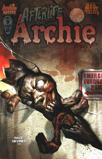 Cover Thumbnail for Afterlife with Archie (Archie, 2013 series) #9 [Dave Devries Variant Cover]