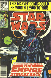 Cover Thumbnail for Star Wars (Marvel, 1977 series) #39 [Newsstand]