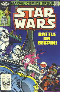 Cover Thumbnail for Star Wars (Marvel, 1977 series) #57 [Direct]