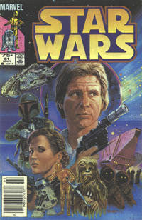 Cover Thumbnail for Star Wars (Marvel, 1977 series) #81 [Canadian]