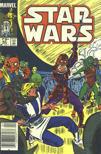 Cover Thumbnail for Star Wars (Marvel, 1977 series) #82 [Canadian]