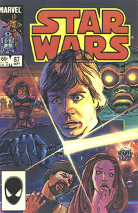 Cover Thumbnail for Star Wars (Marvel, 1977 series) #87 [Direct Edition]