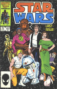 Cover Thumbnail for Star Wars (Marvel, 1977 series) #107 [Direct]