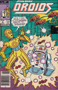 Cover Thumbnail for Droids (Marvel, 1986 series) #2 [Newsstand]