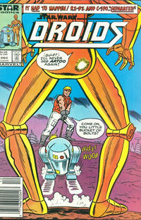 Cover Thumbnail for Droids (Marvel, 1986 series) #5 [Newsstand]