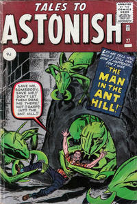 Cover Thumbnail for Tales to Astonish (Marvel, 1959 series) #27 [British]