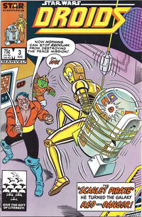 Cover Thumbnail for Droids (Marvel, 1986 series) #3 [Direct]