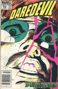Cover Thumbnail for Daredevil (Marvel, 1964 series) #228 [Canadian]