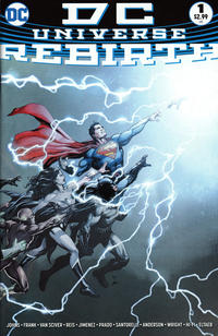 Cover Thumbnail for DC Universe: Rebirth (DC, 2016 series) #1