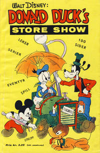 Cover Thumbnail for Donald Duck's Show (Hjemmet, 1957 series) #[6] - Store show [1961]