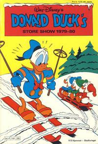 Cover Thumbnail for Donald Ducks Show (Hjemmet / Egmont, 1957 series) #[36] - Store show 1979-80