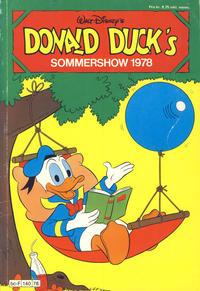 Cover Thumbnail for Donald Ducks Show (Hjemmet / Egmont, 1957 series) #[32] - Sommershow 1978