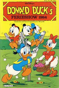 Cover Thumbnail for Donald Duck's Show (Hjemmet, 1957 series) #ferie 1984