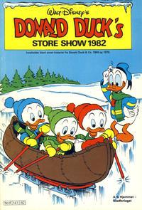 Cover Thumbnail for Donald Ducks Show (Hjemmet / Egmont, 1957 series) #[42] - Store show 1982