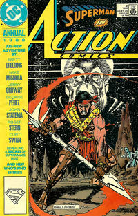 Cover Thumbnail for Action Comics Annual (DC, 1987 series) #2 [Direct]