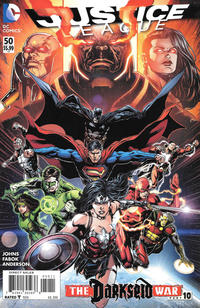 Cover Thumbnail for Justice League (DC, 2011 series) #50