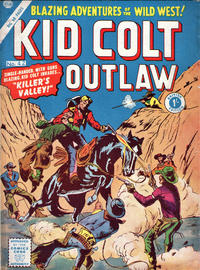 Cover Thumbnail for Kid Colt Outlaw (Thorpe & Porter, 1950 ? series) #42