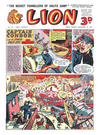 Cover Thumbnail for Lion (Amalgamated Press, 1952 series) #91