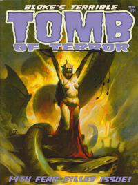 Cover Thumbnail for Bloke's Terrible Tomb of Terror (Mike Hoffman and Jason Crawley, 2011 series) #14