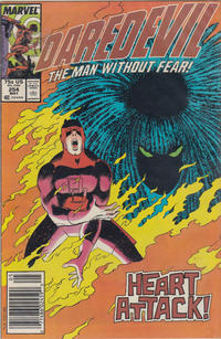 Cover for Daredevil (Marvel, 1964 series) #254 [Direct]