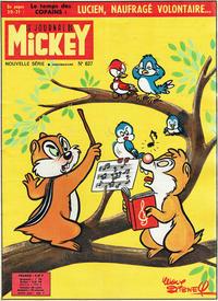 Cover Thumbnail for Le Journal de Mickey (Disney Hachette Presse, 1952 series) #637