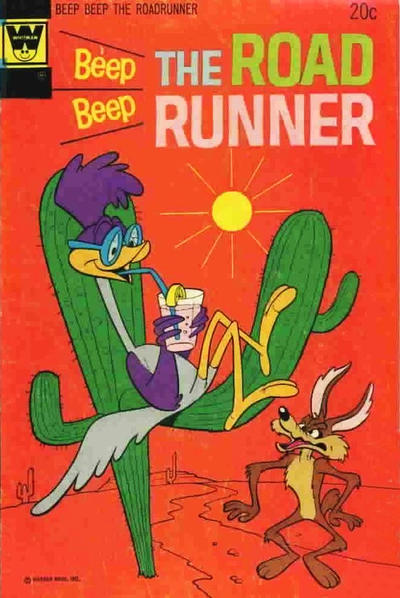 Cover for Beep Beep the Road Runner (Western, 1966 series) #39 [Gold Key Variant]
