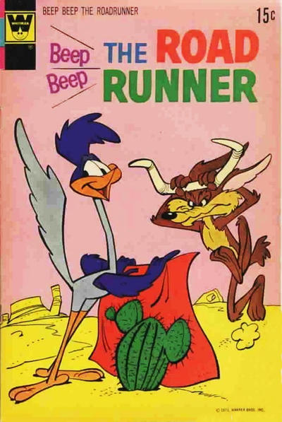 Cover for Beep Beep the Road Runner (Western, 1966 series) #28 [Gold Key]