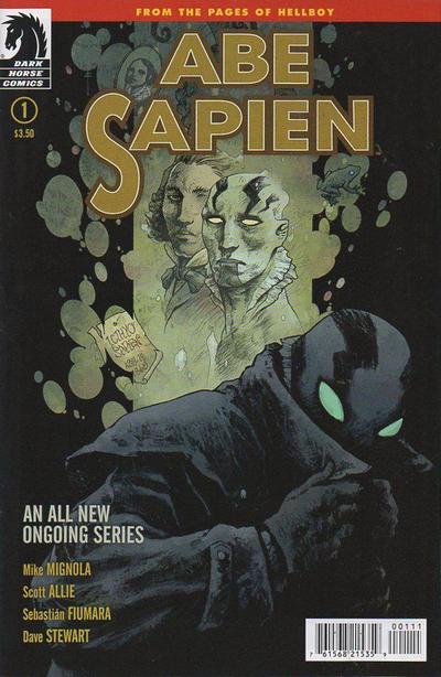 Cover for Abe Sapien (Dark Horse, 2013 series) #1