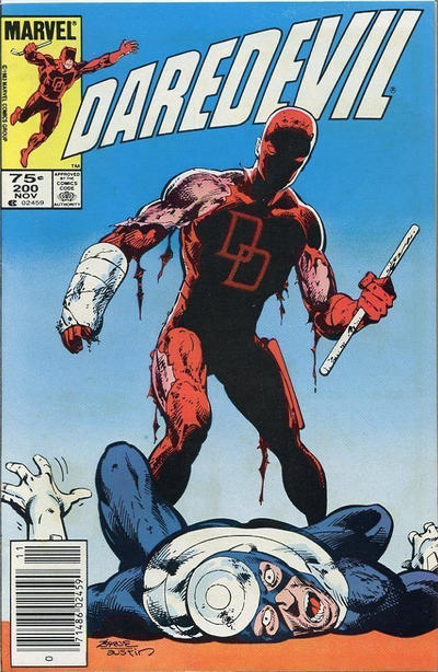 Cover for Daredevil (Marvel, 1964 series) #200 [Direct Edition]