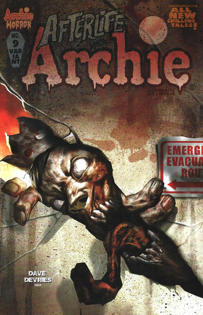 Cover for Afterlife with Archie (Archie, 2013 series) #9