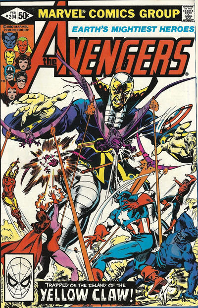 Cover for The Avengers (Marvel, 1963 series) #204 [Direct Edition]