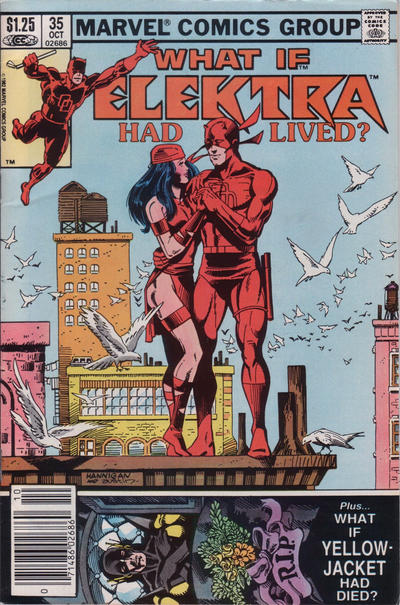 Cover for What If? (Marvel, 1977 series) #35 [Newsstand Edition]