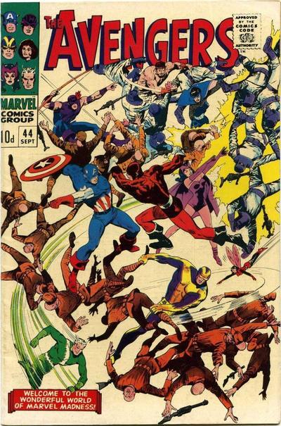Cover for The Avengers (Marvel, 1963 series) #44 [Regular Edition]