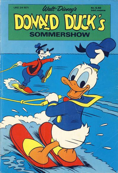 Cover for Donald Ducks Show (Hjemmet / Egmont, 1957 series) #[18] - Sommershow 1971