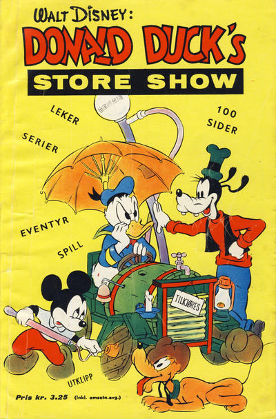 Cover for Donald Duck's Show (Hjemmet, 1957 series) #[6] - Store show [1961]