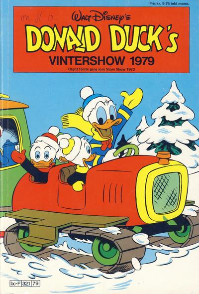 Cover for Donald Ducks Show (Hjemmet / Egmont, 1957 series) #[34] - Vintershow 1979