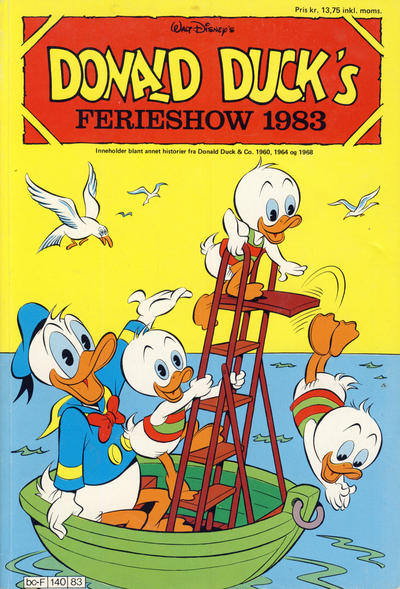 Cover for Donald Ducks Show (Hjemmet / Egmont, 1957 series) #[43] - Ferieshow 1983