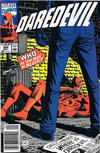 Cover for Daredevil (Marvel, 1964 series) #284 [Newsstand]