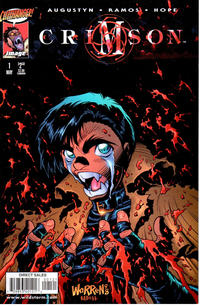 Cover Thumbnail for Crimson (Image, 1998 series) #1 [Adam Warren Cover]
