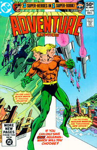 Cover Thumbnail for Adventure Comics (DC, 1938 series) #478 [Direct Edition]